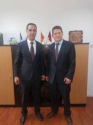 Delegacioni i Agjencisë për Pronësi Industriale të Republikës së Kosovës në vizit zyrtare në Republikën e Maqedonisë