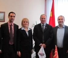 Z.Benoa Batisteli, presidenti i Organizatës Europiane të Patentave, vizitoi RM