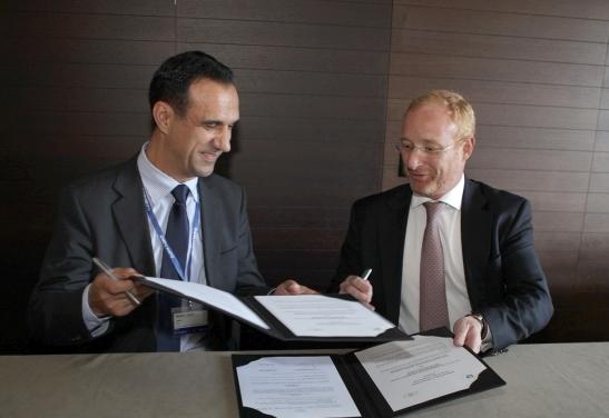 Më 22 Shtator 2014, Enti Shtetëror i Pronësisë Industriale të Republikës së Maqedonisë nënshkroi një Marrëveshje Bashkëpunimi me OHIM